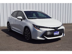 New 2019 Toyota Corolla Hatchback XSE Hatchback in Orange, TX