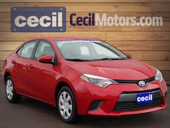Used 2015 Toyota Corolla LE Sedan in Orange, TX