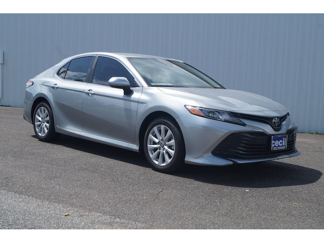 New 2019 Toyota Camry LE Sedan in Orange, TX