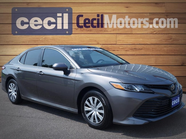 Used 2018 Toyota Camry L Sedan in Orange, TX