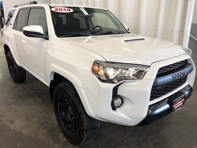 Certified Pre-Owned 2018 Toyota 4Runner TRD Pro SUV in Hiawatha, IA