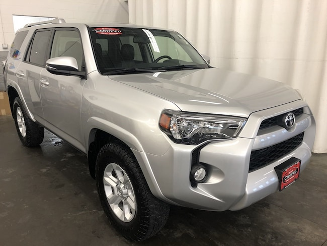 Certified Pre-Owned 2016 Toyota 4Runner SR5 Premium SUV in Hiawatha, IA