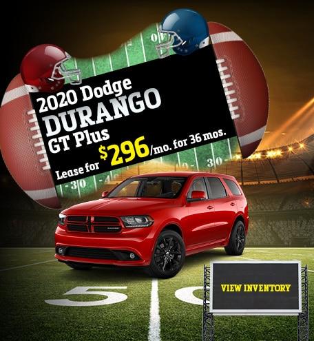 Dodge Durango GT Plus Lease Offer