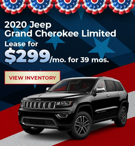 Jeep Grand Cherokee Limited Lease Offer
