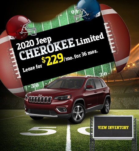Jeep Cherokee Limited Lease Offer