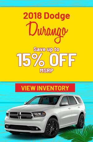 Dodge Durango Special Offer