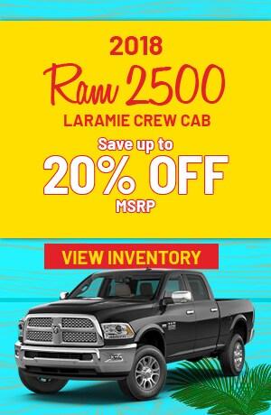 Ram 2500 Laramie Crew Cab Special Offer
