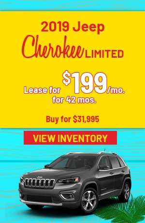Jeep Cherokee Limited Special Offer