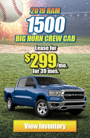 Ram 1500 Big Horn Crew Cab 4X4 Lease Offer