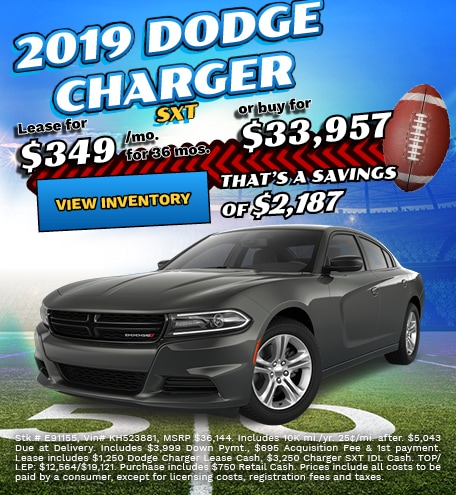 Dodge Charger Special Offers