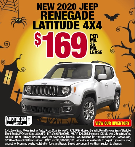 Jeep Renegade Latitude Lease Offer