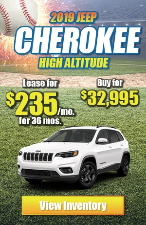 Jeep Cherokee High Altitude 4X4 Lease Offer