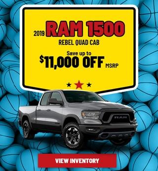 Ram 1500 Rebel Quad Cab Special Offer