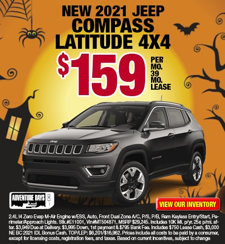 Jeep Compass Latitude Lease Offer