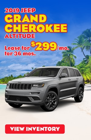 Jeep Grand Cherokee Altitude Special Offer