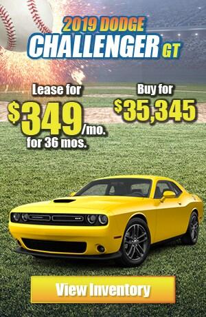 Dodge Challenger GT Lease Offer