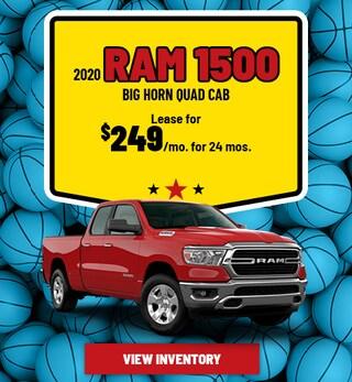 Ram 1500 Big Horn Quad Cab Lease Offer