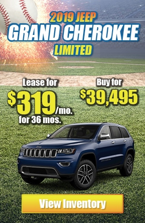Jeep Grand Cherokee Limited 4X4 Lease Offer
