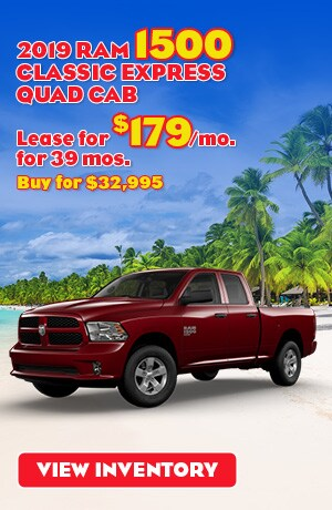 Ram 1500 Classic Express Quad Cab Special Offer
