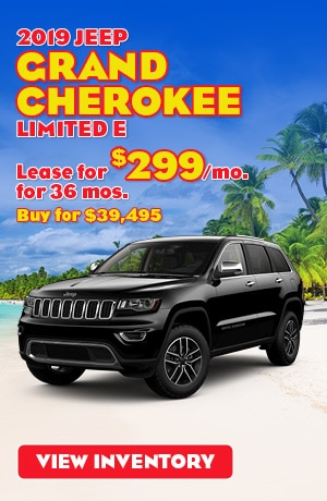 Jeep Grand Cherokee Limited Special Offer