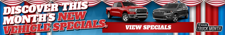 New Vehicle Specials at Nielsen Dodge