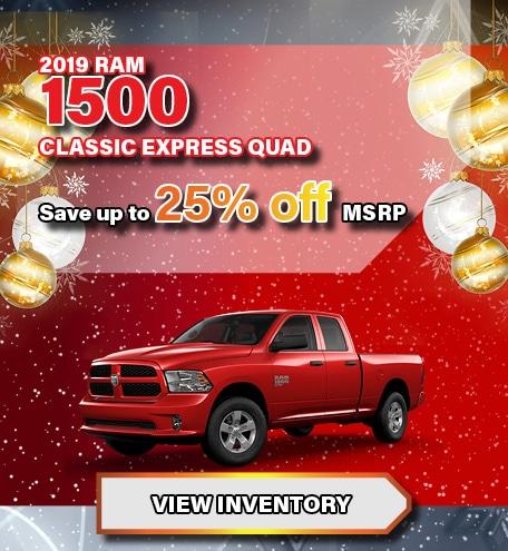 Ram 1500 Classic Express Quad Discount