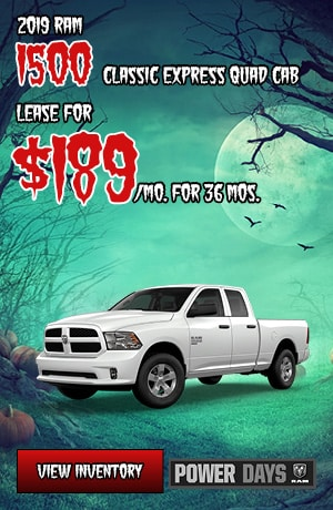 Ram 1500 Classic Express Quad Cab Lease Offer