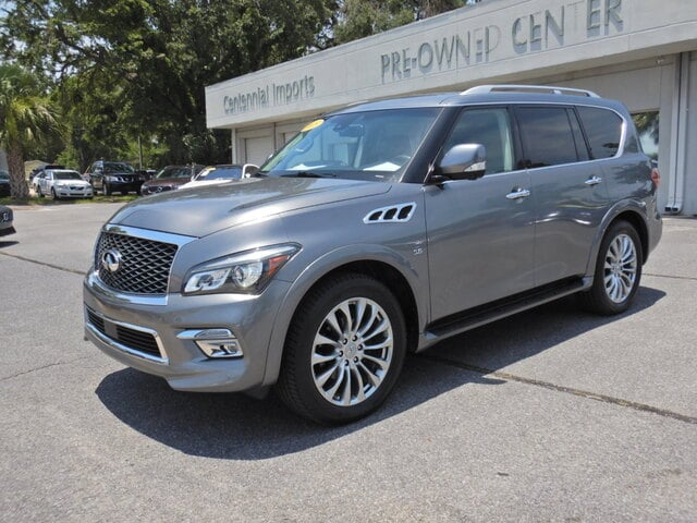 Featured Used 2015 INFINITI QX80 5.6 SUV JN8AZ2NF1F9570827 for sale in Pensacola, FL