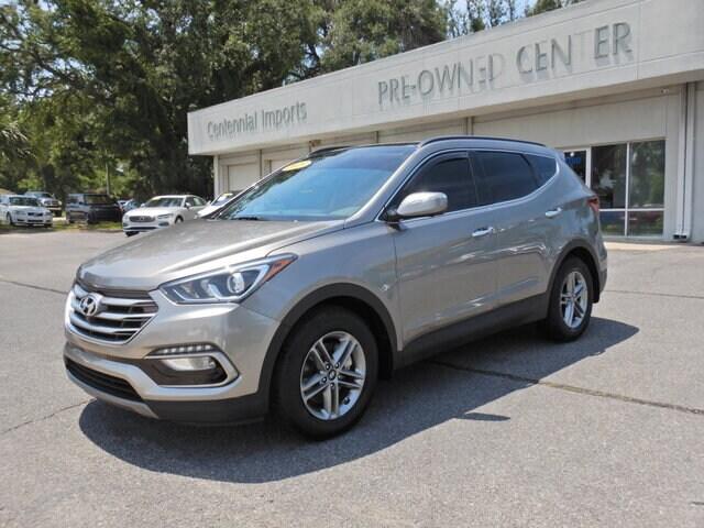 Featured Used 2018 Hyundai Santa Fe Sport 2.4L SUV 5XYZU3LB3JG518366 for sale in Pensacola, FL