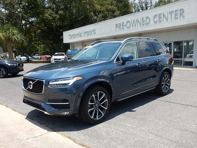 Featured Used 2018 Volvo XC90 T5 FWD Momentum (7 Passenger) SUV YV4102CKXJ1349897 for sale in Pensacola, FL