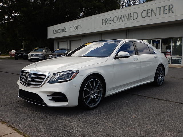 Featured Used 2018 Mercedes-Benz S-Class S 560 Sedan WDDUG8DB8JA399569 for sale in Pensacola, FL