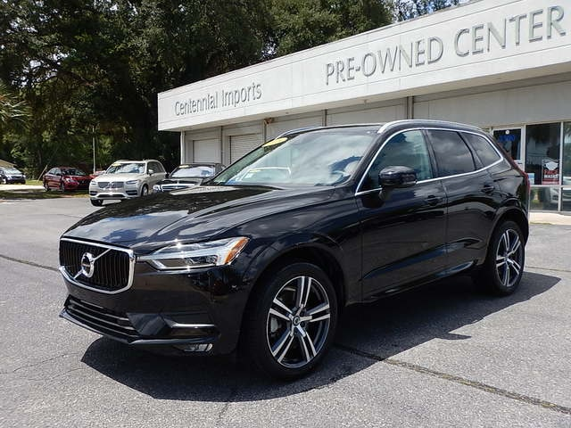 Featured Used 2018 Volvo XC60 T6 AWD Momentum SUV YV4A22RK6J1015772 for sale in Pensacola, FL