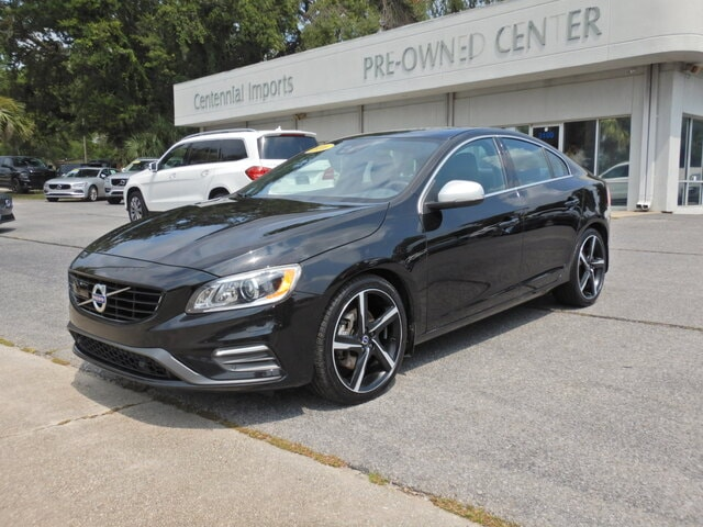 Featured Used 2016 Volvo S60 T6 Drive-E R-Design Platinum Sedan YV149MTS0G2405716 for sale in Pensacola, FL