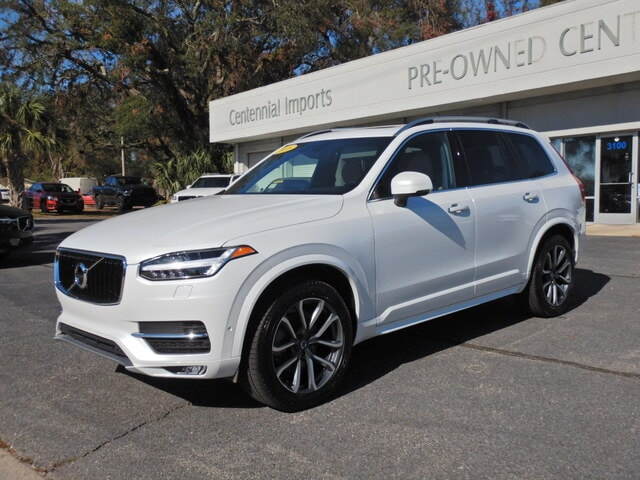 Featured Used 2018 Volvo XC90 T6 AWD Momentum (7 Passenger) SUV YV4A22PK1J1329218 for sale in Pensacola, FL