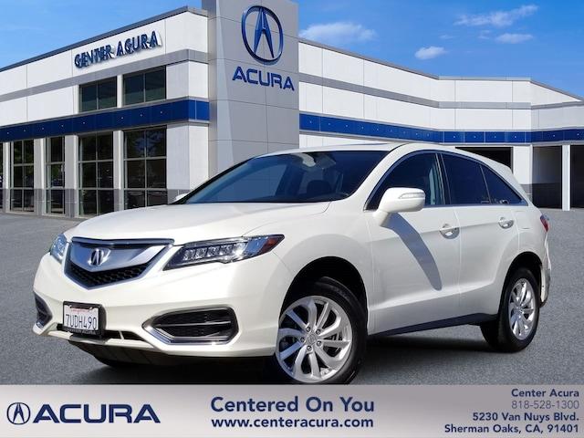 Acura Van Nuys >> 2017 Acura Rdx W Technology Pkg Serving Van Nuys Calabasas