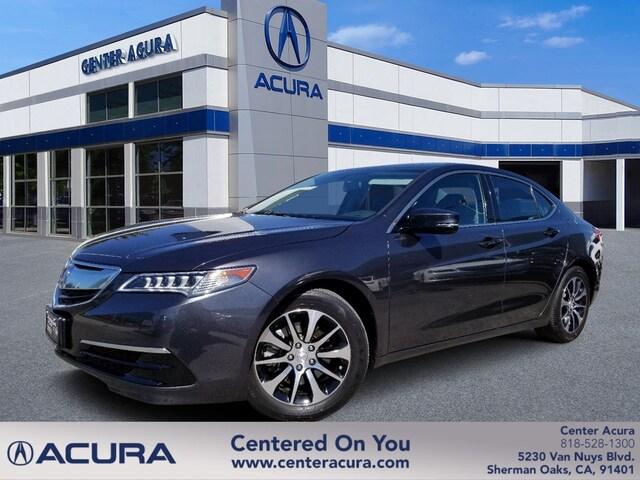 Acura Santa Monica >> 2015 Acura Tlx Serving Van Nuys Calabasas Thousand Oaks