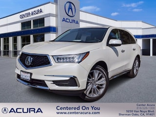 used 2017 Acura MDX w/Technology Pkg SUV for sale in los angeles