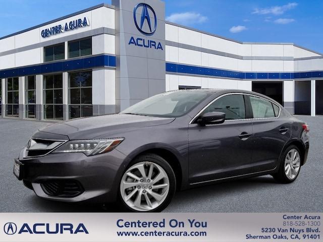 Acura Santa Monica >> 2017 Acura Ilx W Technology Plus Pkg Serving Van Nuys
