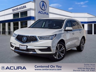 used 2018 Acura MDX w/Technology Pkg SUV for sale in los angeles