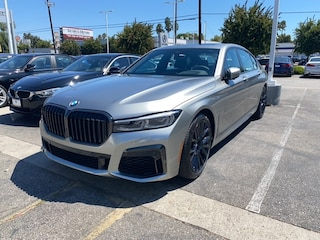 New 2021 BMW 740i Sedan for sale in los angeles
