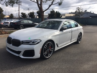 New 2021 BMW M550i xDrive Sedan for sale in los angeles