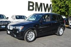 Used 2016 BMW X3 sDrive28i SAV near north hollywood