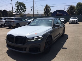 New 2022 BMW 740i Sedan for sale in los angeles