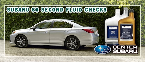 Check your Subaru Fluid Levels in 60 Seconds | Center Subaru