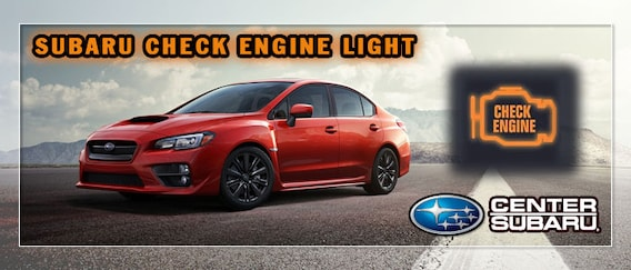 What Does a Subaru Check Engine Light Mean