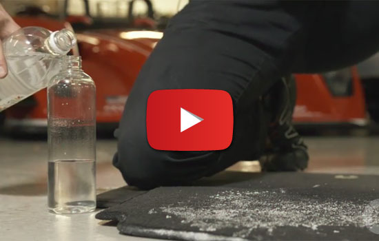 How to remove road salt stains from carpets. Center Subaru