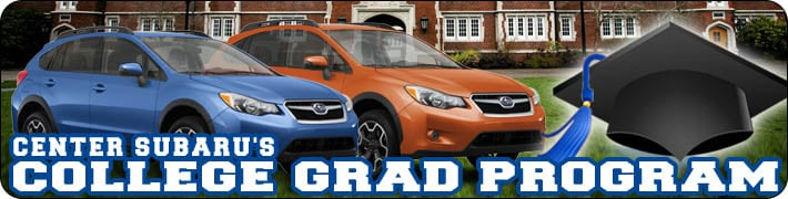 Center Subaru New Subaru Dealership In Torrington CT - Subaru graduate program