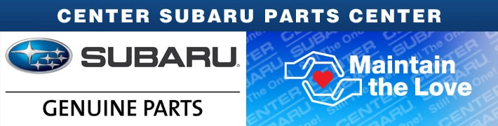 Genuine Subaru Parts & Accessories | Center Subaru, CT