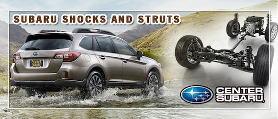 When to Replace Your Subaru Shocks and Struts | Center Subaru