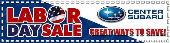 Subaru labor day sale
